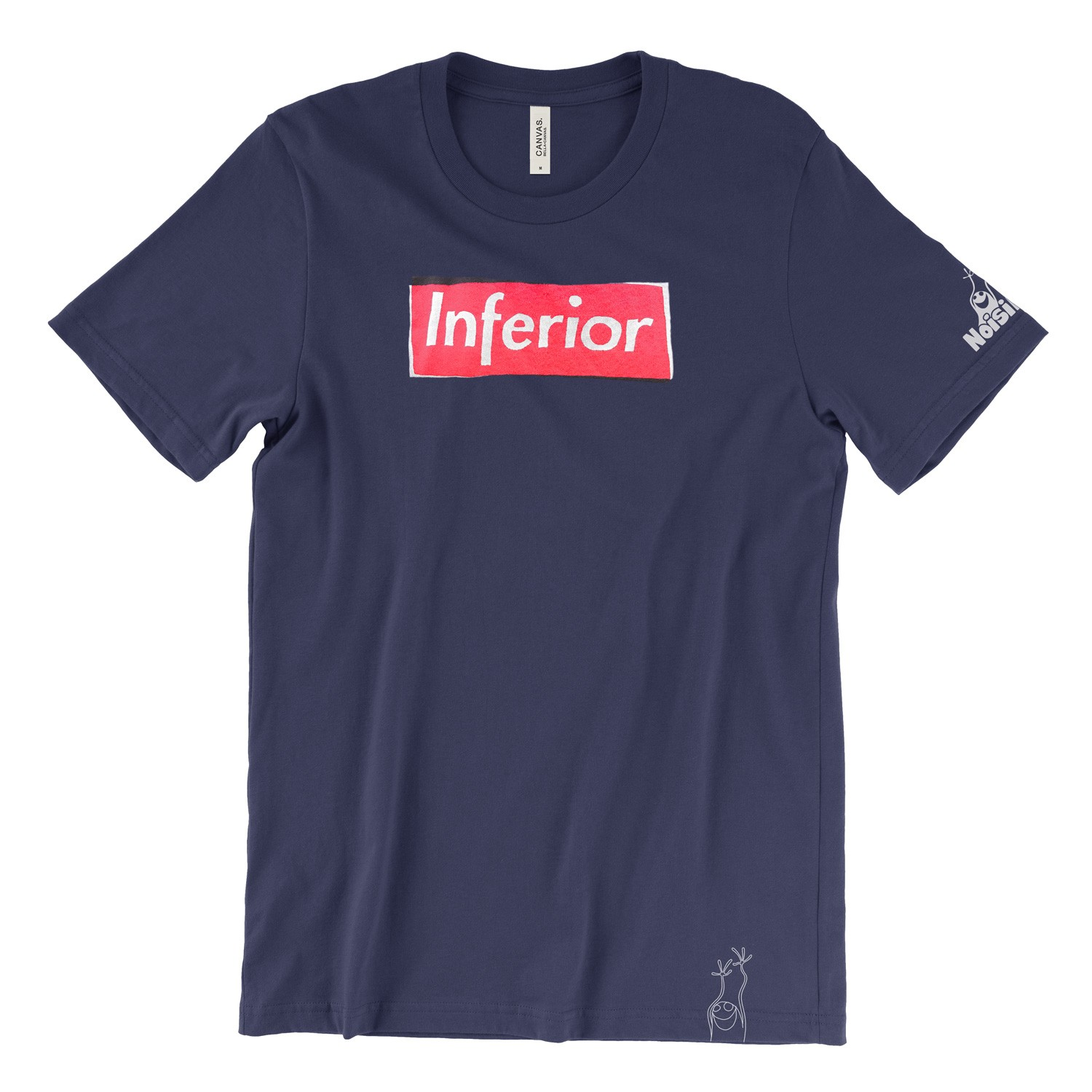 t-shirt inferior blue full
