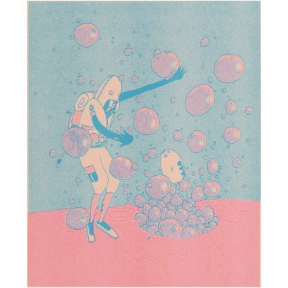 Risograph Print Winslow Pink full