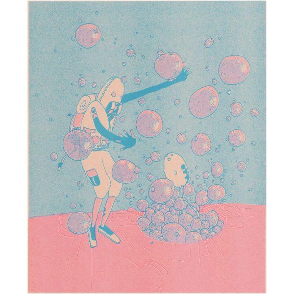 Risograph Print Winslow Pink full